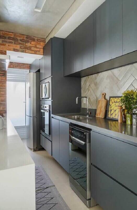 modelo-de-armário-de-cozinha-planejado-todo-cinza