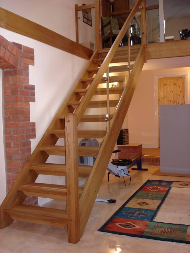 Escada De Madeira 55 Modelos Para Se Inspirar Dicas De Como Fazer