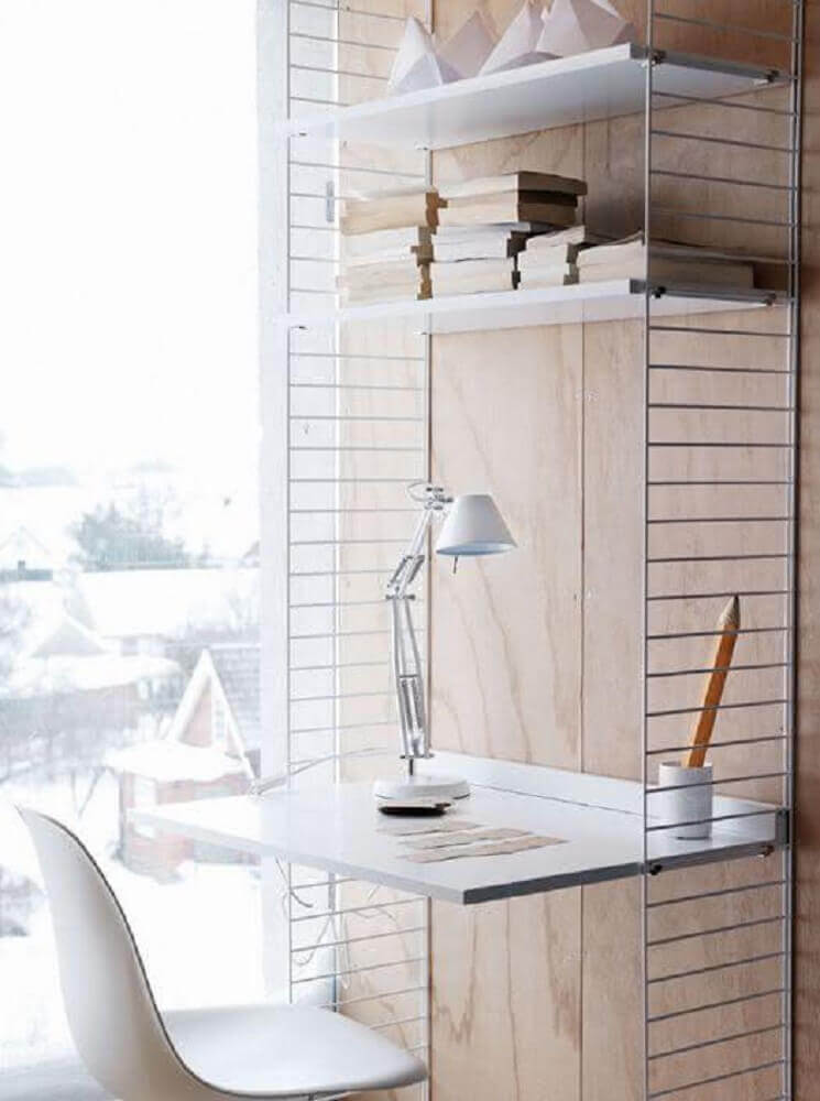 modelo de escrivaninha simples e delicada