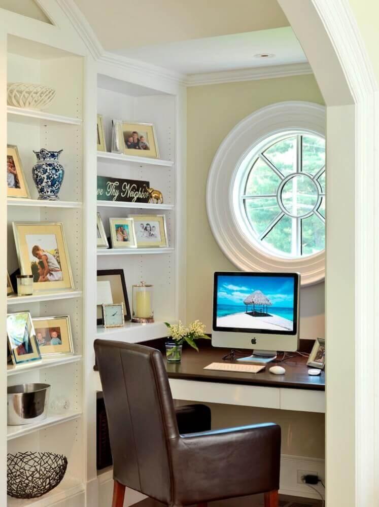 modelo de home office pequeno planejado