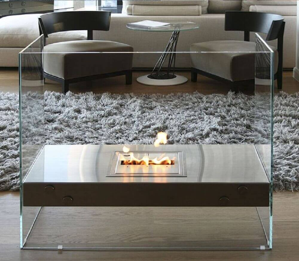 Resultado de imagem para lareira portátil em apartamento