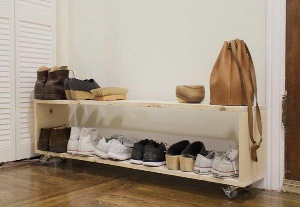 modelo de sapateira de pallet