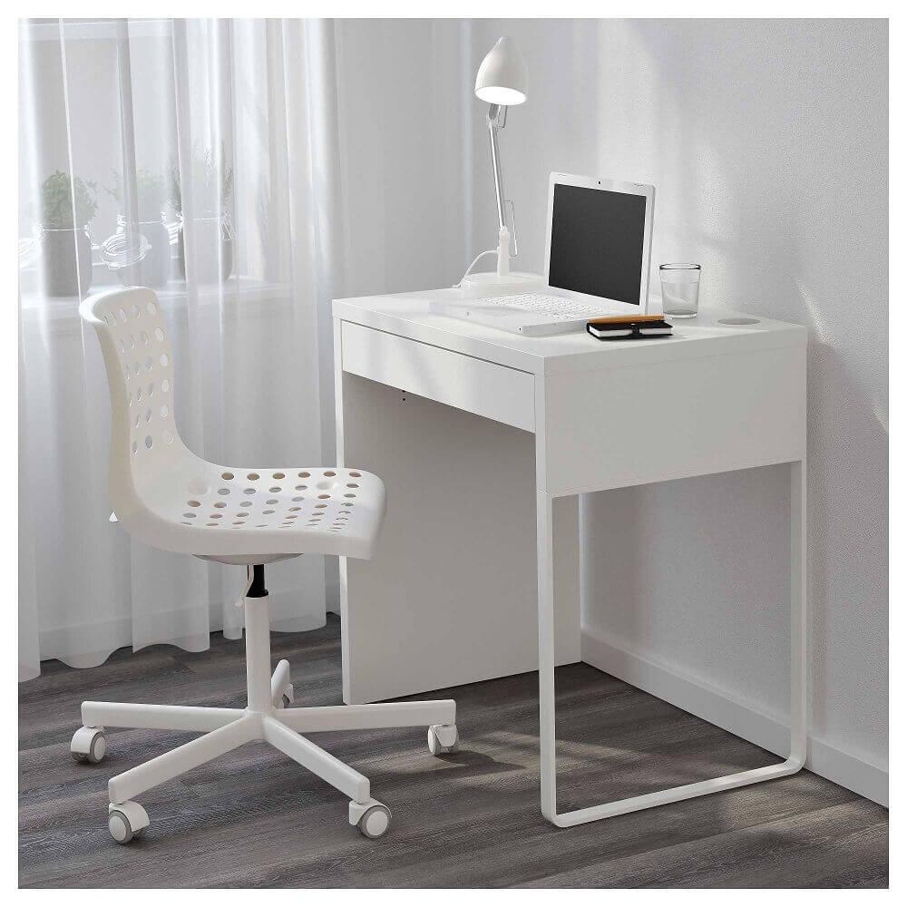modelo moderno de escrivaninha pequena e simples