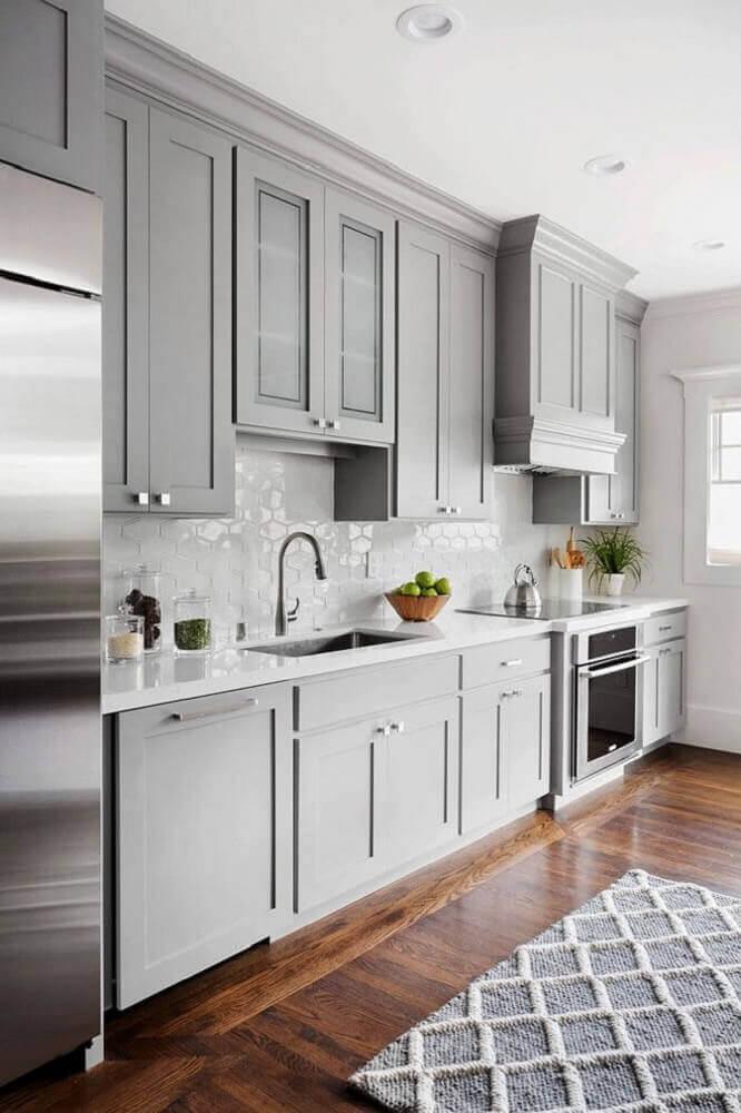 modelos de armários de cozinha para decoração clássica