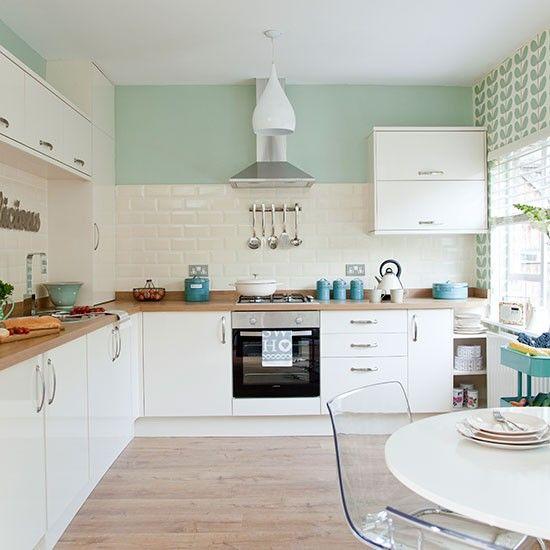 Modelos de cozinha modulada com verde