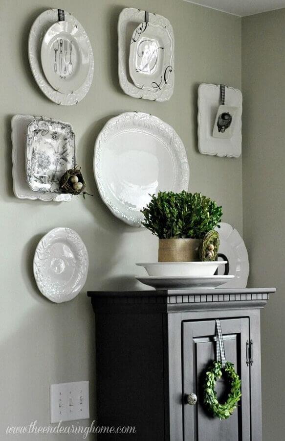 modelos de pratos para decoração de parede