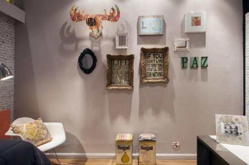 objetos para decoração de parede