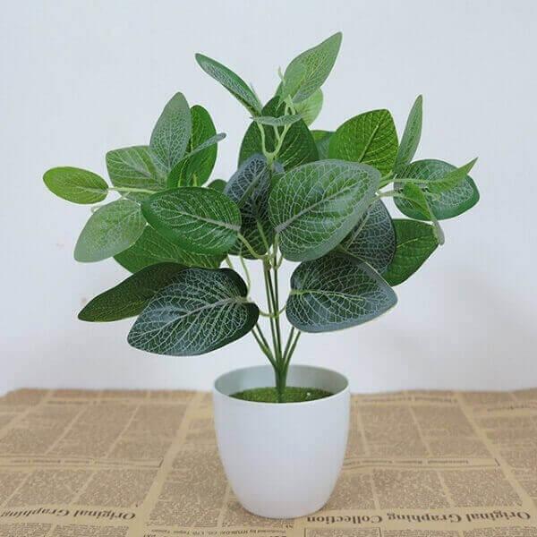 plantas artificiais folhas