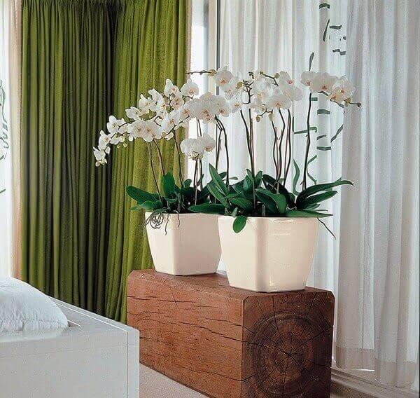 plantas artificiais para decoração de casa