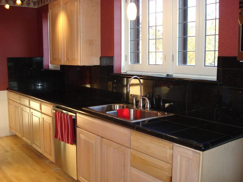 tipos de granito preto para cozinha
