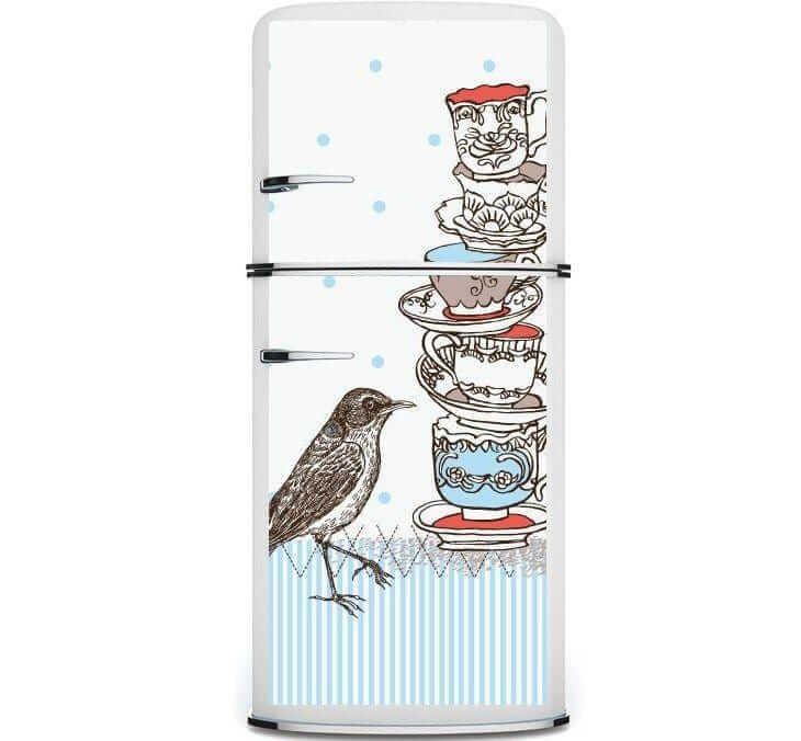 Aposte no envelopamento da sua geladeira. Fonte: Kudu Magnets