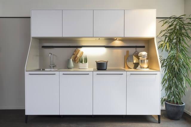 Armário multiuso com design diferente para cozinha