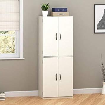Armário multiuso com quatro portas para quarto