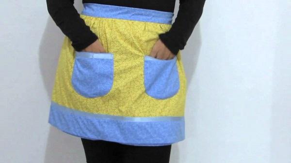 Artesanato em tecido avental
