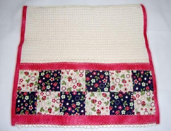 Artesanato em tecido para cozinha