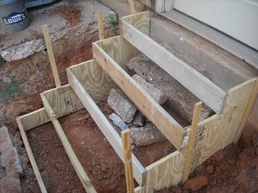Como fazer concreto para escada