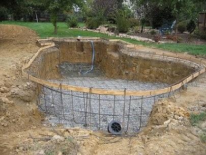 Como fazer concreto fa a sua pr pria escada piscina e for Como se construye una piscina de concreto