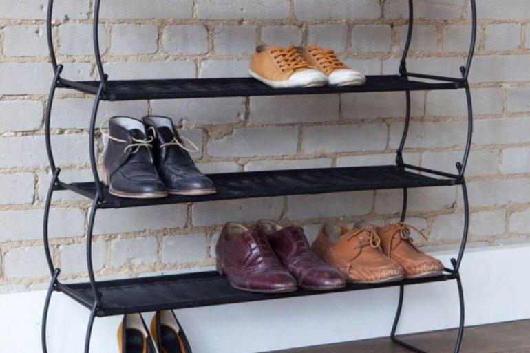Como organizar sapatos em casa.