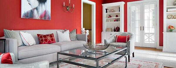 Cores para sala de estar moderna