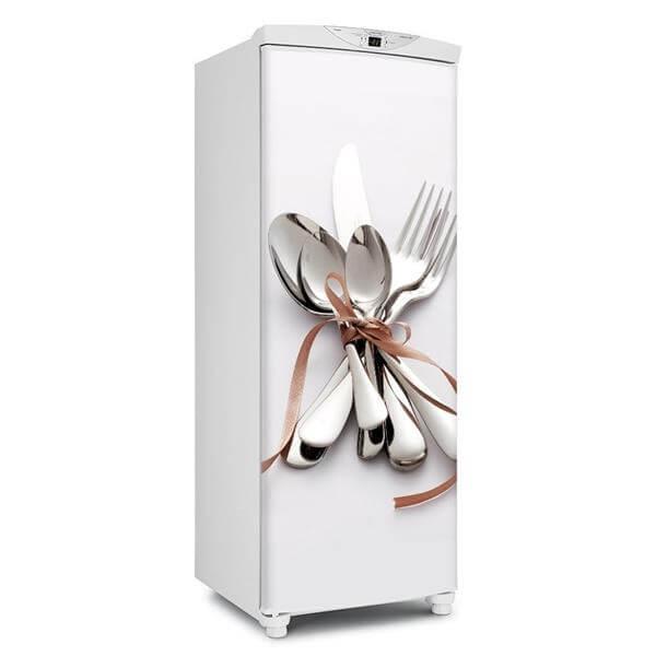 Detalhes que fazem toda a diferença: adesivos na geladeira. Fonte: Mercado Livre
