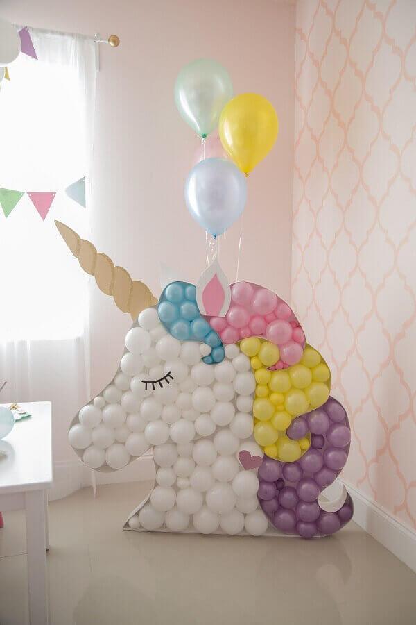 Festa de unicórnio balões