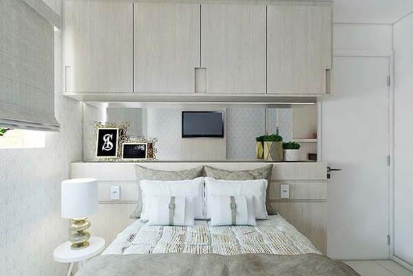 Guarda roupa casal para apartamentos pequenos