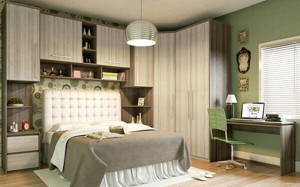 Guarda roupa casal para quarto pequeno