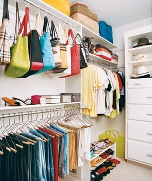 Guarda roupa sem porta closet