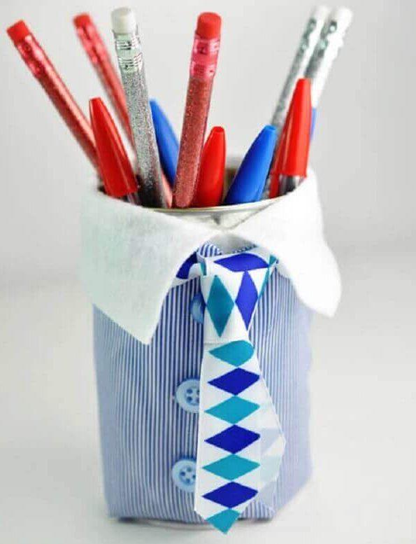 Lembrancinhas Para o Dia dos Pais latinha reciclável