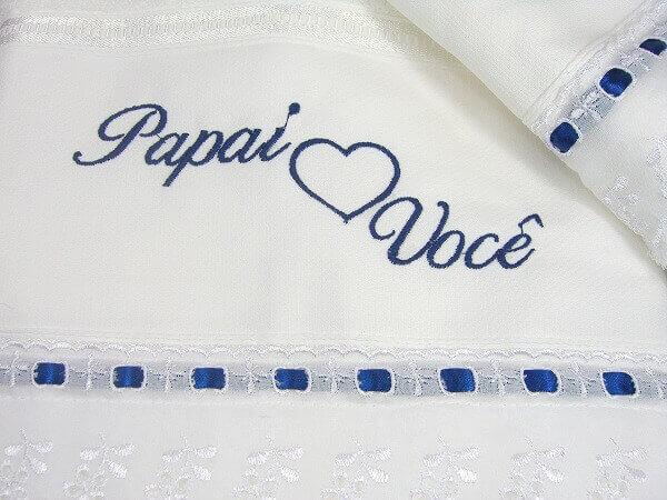 Lembrancinhas Para o Dia dos Pais toalha
