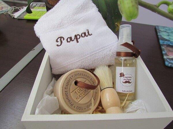 Lembrancinhas para o dia dos pais kit higiene