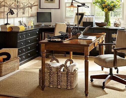 Mesa para escritório retrô