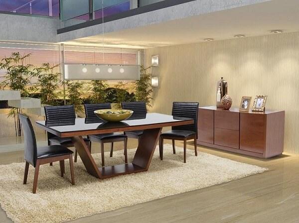 Modelo de buffet para sala de jantar simples