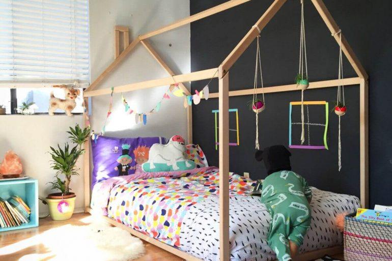 Modelo de quarto montessoriano para se inspirar