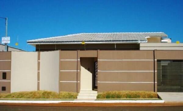 Muros de casas populares