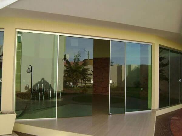 Parede de vidro para área externa Original System RP