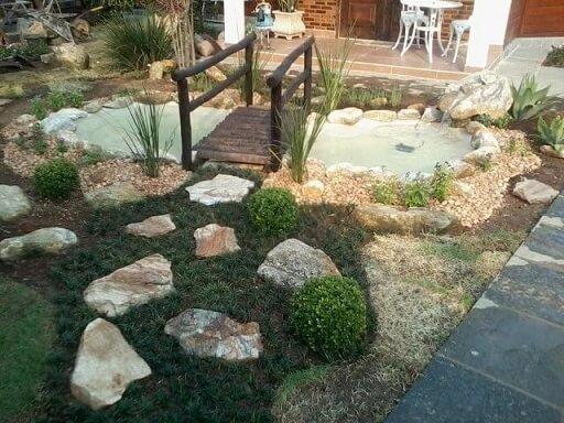 Pedras para jardim grandes e pequenas Projeto de Atelier de Paisagem