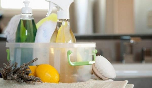 Produtos de limpeza caseiro para casa