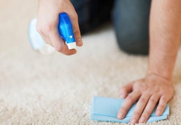 Produtos de limpeza para carpete