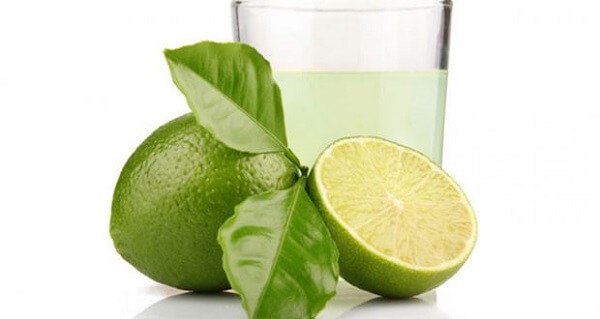 Produtos de limpeza suco de limão