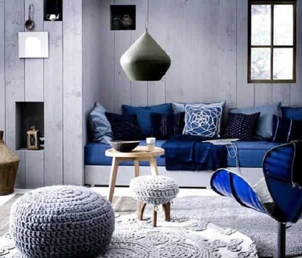 Salas modernas com decoração sofisticada