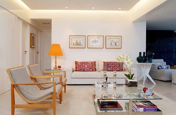 Salas modernas de estar