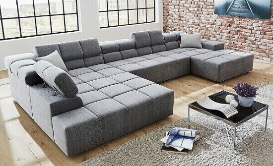 Salas modernas sofá grande