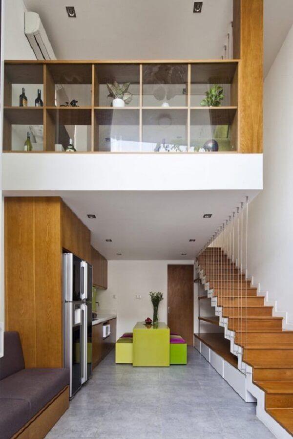 Se inspire no layout de loft para deixar seu sobrado pequeno mais moderno