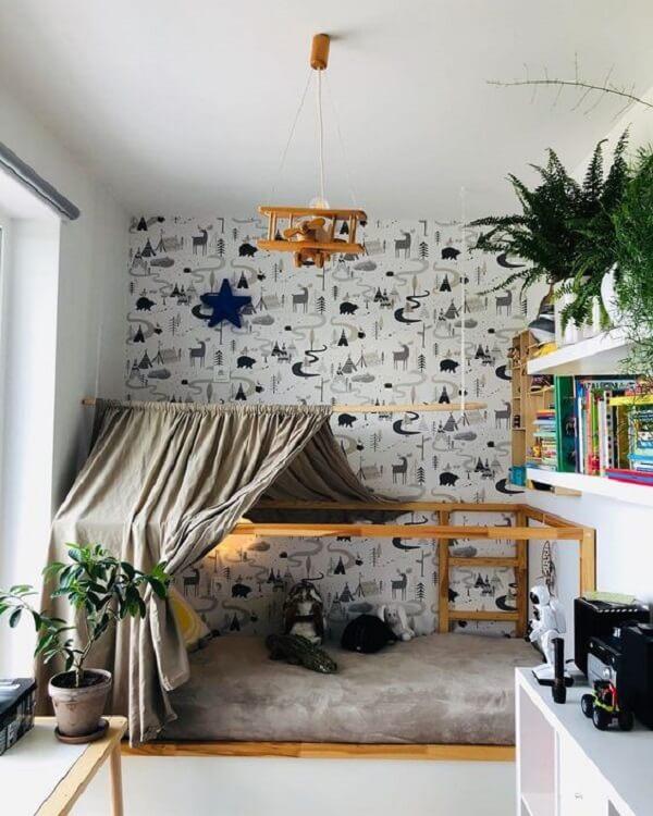 Use a imaginação e crie um quarto montessoriano ousado