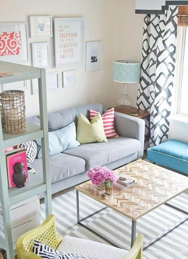 cores para pintar sala pequena Foto Fashion Design