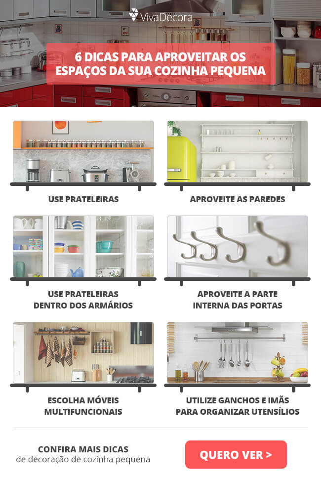 Infográfico - Cozinhas Pequenas