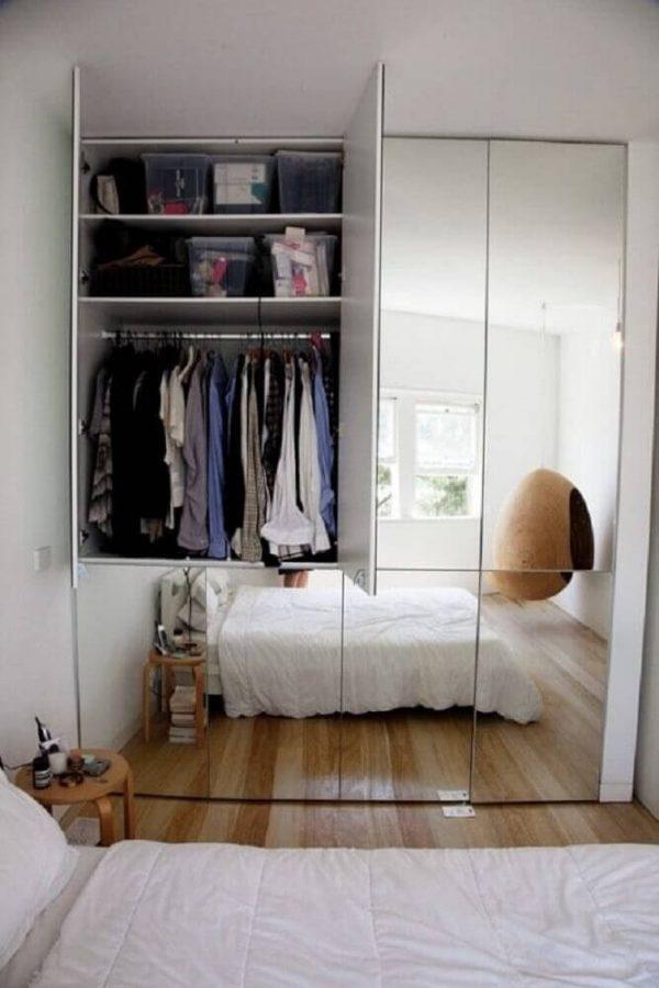 Modelos de guarda roupa com espelho