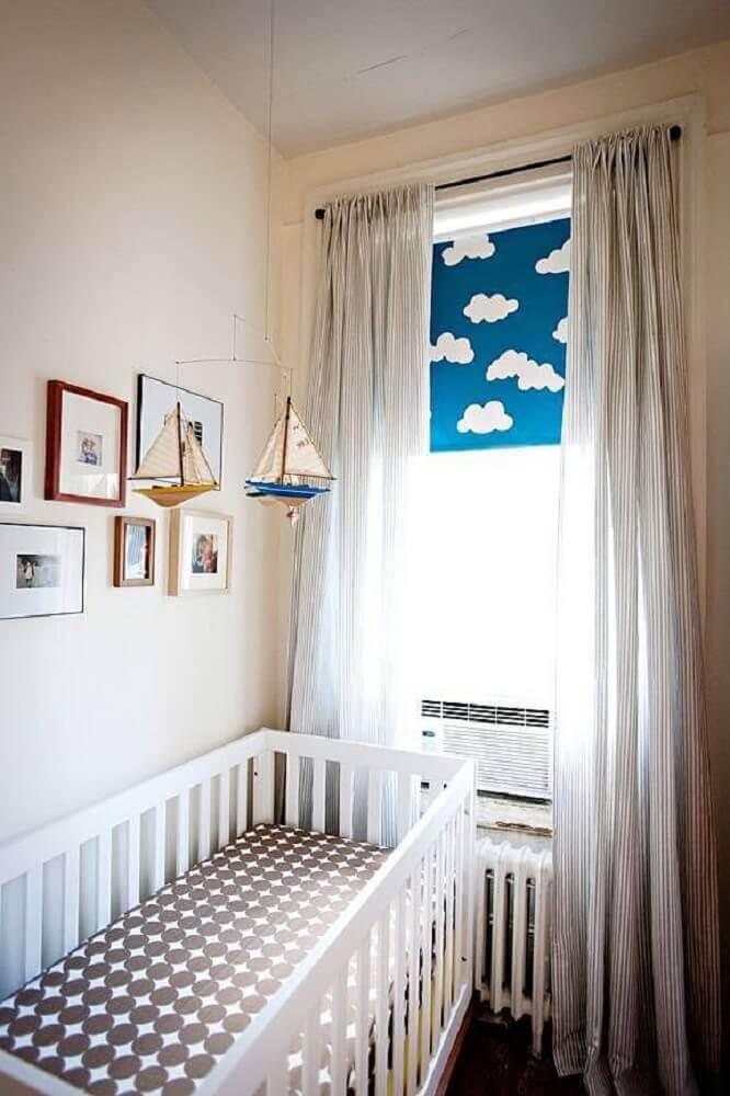 decoração simples para quarto de bebê pequeno