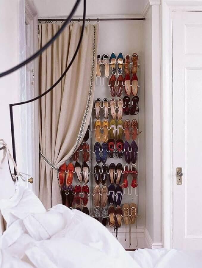 ideias de como guardar sapatos